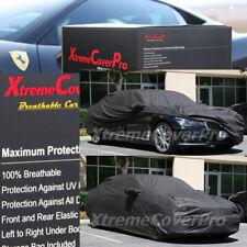2015 BMW 740I 750I Breathable Car Cover w/Mirror Pockets - Black