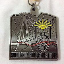 2011 Salt Lake City Half Marathon Medal Utah Mormon LDS Road Race Medallion Run
