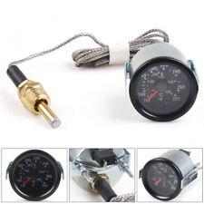 2 52mm Pointer Mechanical Water Temp Gauge Meter 40 130110 265 Sensor 12npt