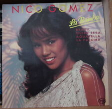 NICO GOMEZ LA BAMBA CHEESECAKE LATINO COVER FRENCH LP MFP 1984