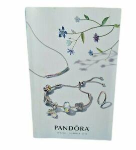 Pandora Spring Summer 2018 Catalog Look Book Charm Bracelet Ring Earring 154 PG