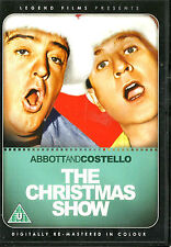 Abbott & Costello: Colgate Show Christmas Special (Colour) *New & SEALED* Reg 2
