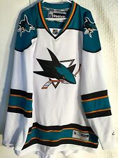 Reebok Premier NHL Jersey San Jose Sharks Team White sz 3XL