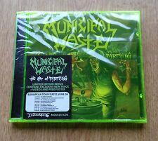 municipal Waste Art Of Partying Cd Redux Edition Bonus Tracks Green Case Sealed!