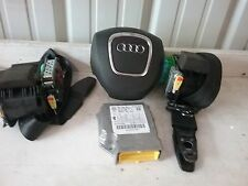 10 11 12 Audi A4 Sedan station wagon air bag set 2.0L wheel bag belts module