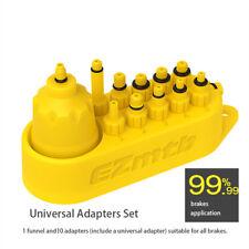 10 in1 Universal Bike Hydraulic Disc Brake Bleed Adapters set Include Oil Funnel
