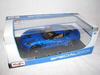 2014 Chevy Corvette Stingray Z51 Maisto 1:18 Scale Blue Diecast Car NEW IN BOX