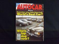 AUTOCAR & MOTOR MAGAZINE 5 MAY 1993. MITSUBISHI GALANT 2.0 V6 ROAD TEST.