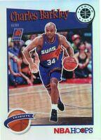 2019-20 Hoops Premium Stock Charles Barkley (Suns) Holo Tribute NBA Card # 281