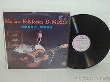MANUEL MORA Musica Folklorica De Mexico LP Discos Corona DCS 5