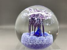 Caithness Glass Paperweight - Marquee - Philip Chaplain 1997 - Cobalt