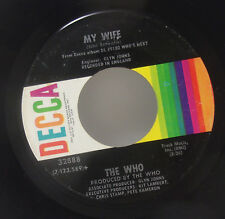 """The Who My Wife Behind Blue Eyes 7"""" 45 VG"""