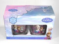 Disney Frozen Anna Elsa Glass Mason Jar w/Lids - Set of (2) - New in box