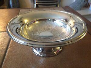Vintage Thomas Bishton Silver Plated Sweet Dish 6210