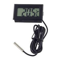 LCD Digital Thermometer für Außen mit Kabel Fühler Außen Sensor kabelgebunden
