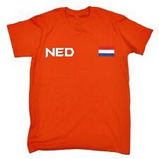 Netherlands Flag T-SHIRT Holland Dutch Sport Football Soccer birthday gift
