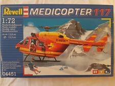 Revell 04451 Medicopter 117 1:72 Neu, Bauteile versiegelt