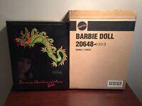 Bob Mackie Fantasy Goddess Of Asia Barbie Doll +Shipper Box + Sketch