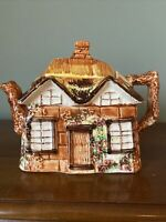 "Vintage Price Bros. Ceramic Ye Olde Cottage House""Teapot Made In England #845007"