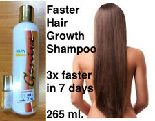 Genive Long Hair Fast Growth shampoo helps your hair to lengthen grow+Free Serum
