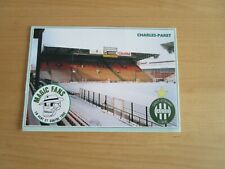 CARTE POSTALE  MAGIC FANS  ASSE ST ETIENNE  TRIBUNE CHARLES- PARET NEUVE