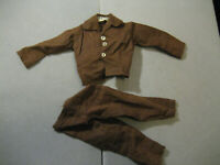 Vintage GI Joe Brown Late Issue Fight for Survival Shirt and Pants