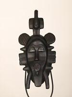 BF4 Senufo alte afrikanische Kpelye Maske / Masque Senoufo / Old tribal mask