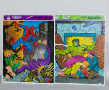 Mint Factory Sealed Rare 1979 Whitman Frame-Tray Puzzle. Spider-Man & The Hulk