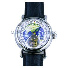 AD20 BOND Mens Mechanical TianJin ST8000 Tourbillon Movement  Dress Watch Earth