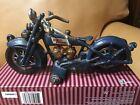 XONEX HARLEY-DAVIDSON CAST IRON MOTORCYCLE NO RIDER.