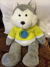"Cal plush Save Our Earth Now Soft Teddy Bear 28"" Tall Brand New"