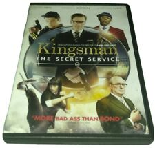 Kingsman Secret Service DVD Samuel L. Jackson , Michael Caine , Colin firth