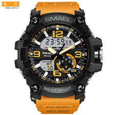 SMAEL Mens Sport Waterproof Watch LED Digital Quartz Military Wrist Watches+Box