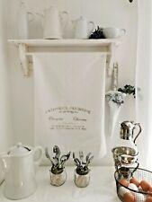 Geschirrtuch Handtuch  Shabby Chic Landhaus Deko Patisserie geschenk 75x55 cm