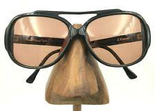 Vintage TWE L.Erard Black Oval Aviator Eyeglasses Sunglasses Frames France