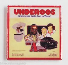 A-Team Underoos FRIDGE MAGNET (2 x 2 inches) tv show mr. t mister 80's