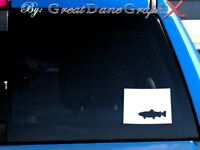 Colorado Brown Trout Fishing State Vinyl Decal Sticker / Color - HIGH QUALITY