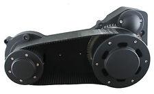 "Ultima Black 3.35"" Street Style Belt Drive 1990-2006 EVO & Twin Cam Softail"