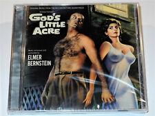 Elmer Bernstein GOD'S LITTLE ACRE Soundtrack Limited CD New and Sealed