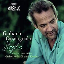 "GIULIANO CARMIGNOLA ""VIOLINKONZERTE 1-4 (GA)"" CD NEU"