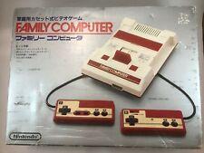Nintendo Famicom with box; Japan Import