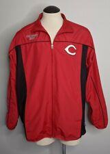 Authentic Majestic Cincinnati Reds Men's XL Windbreaker Jacket Sewn Cool Base