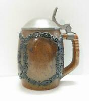 Jugendstil Bierkrug 0,5 Liter, Merkelbach Modellnr. 2112, Paul Wynand um 1910