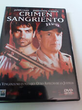"DVD ""CRIMEN SANGRIENTO"" WILLIAM A GRAHAM JAMES CAAN JOHNATHON SCHAECH ELIZABETH"