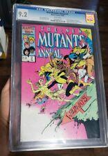 New Mutants Annual #2 CGC 9.2 1st appearance of Psylocke