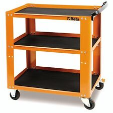 Beta C51 3 Level Mobile Workshop Tool Trolley Orange