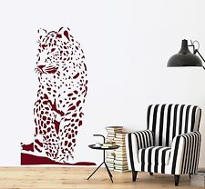 Wall Vinyl Decal Tiger Ethnic Decor Jungle African Sticker z3661
