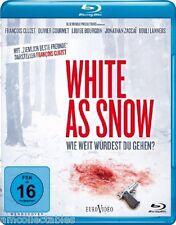 BLU-RAY - WHITE AS SNOW - WIE WEIT WÜRDEST DU GEHEN ? - Nuevo/Embalaje Org.
