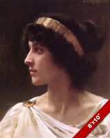 CLEOPATRA QUEEN OF EGYPT PORTRAIT OIL PAINTING ART REAL CANVAS GICLEEPRINT