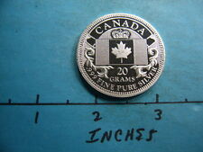 CANADA THE SILVER NATIONS COLLECTORS EDITION 999 SILVER MINT COIN VERY RARE